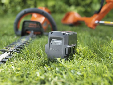 Get more done with the Husqvarna Battery Series